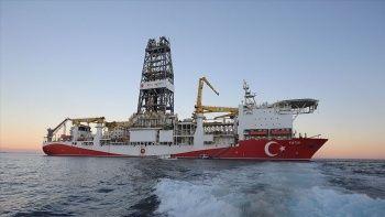 540 milyar metreküp doğalgaz için ilk adım