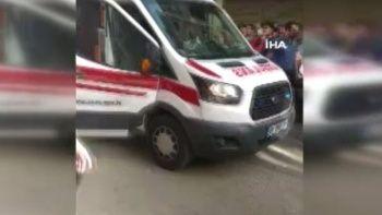 Ankara'da tüp patlaması: 2 yaralı