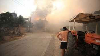 Antalya Akseki'de orman yangını: 1 kişi öldü