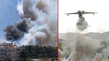 Antalya'daki yangınlar için Rusya'dan destek! 3 uçakla çalışmalara katıldılar