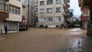 Artvin'de sağanağın ardından iki mahalleyi su bastı