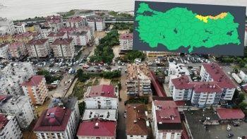 Aşırı sağanak uyarısı: Meteoroloji riskli illeri açıkladı