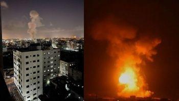 Ateşkese rağmen İsrail Gazze Şeridi'ne saldırdı