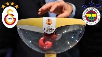 UEFA Avrupa Ligi'nde Galatasaray-Fenerbahçe derbisi ihtimali