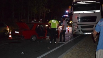 Aydın'da ters yön faciası: Sürücü ve eşi öldü