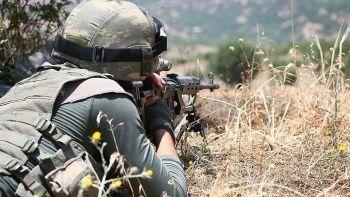 Barış Pınarı ve Fırat Kalkanı bölgelerinde 5 terörist öldürüldü