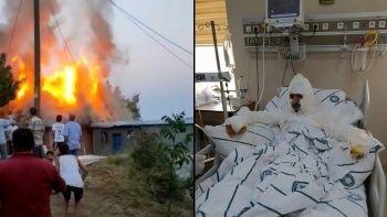 Bingöl'de korkutan patlama: 2 ev kullanılamaz hale geldi
