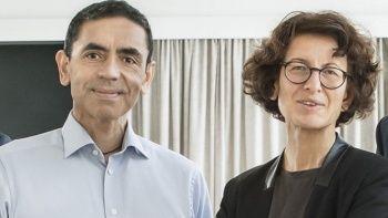 BioNTech'in kurucuları Özlem Türeci ve Uğur Şahin'den yeni aşı adımı