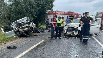 Bursa'da feci kaza! Kafa kafaya çarpıştılar