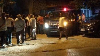 Bursa'da kavga sonrası şüphelinin saklandığı evi taşladılar