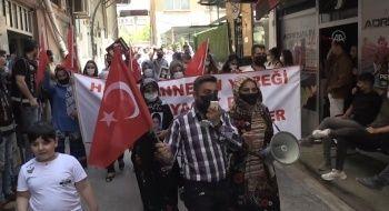 Çocukları kaçırılan ailelerden PKK'ya sert tepki