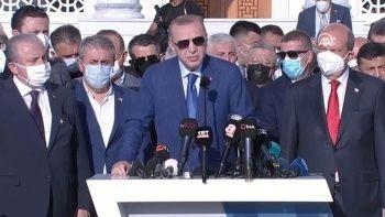 Cumhurbaşkanı Erdoğan: Kabil Havaalanı için ABD'ye bazı şartlarımız var
