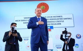 Cumhurbaşkanı Erdoğan Sakaryalılara müjde verdi