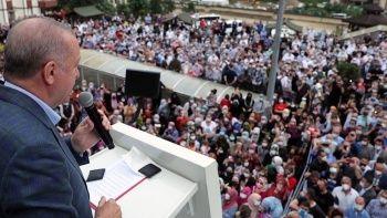 Erdoğan üstüne basa basa uyardı: Yamaçlara ev yapmayın
