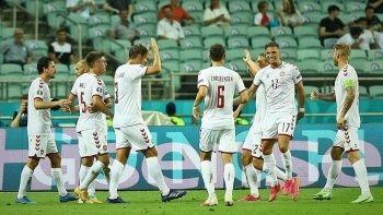 Danimarka EURO 2020'de yarı finale yükseldi