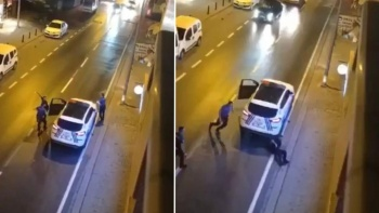 Dehşet! Annesini bıçakladı, ardından polislere saldırdı
