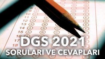 DGS puan hesaplama: DGS soruları ve cevapları 2021
