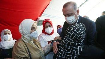 Diyarbakır annelerinden Cumhurbaşkanı Erdoğan'a: Senin sayende bu gücü buluyoruz