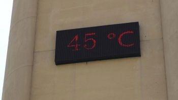 Diyarbakır'da termometre 45 dereceyi gösterdi