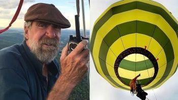Dünyanın en iyilerinden biriydi sıcak hava balonundan düşerek öldü