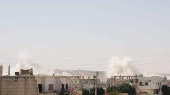 Esad rejiminden Dera'ya topçu saldırısı: 1 ölü