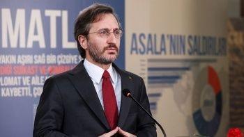 Fahrettin Altun'dan Youtube'a sansür tepkisi: Riyakarlık