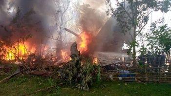 Filipinler'de askeri uçak düştü: 29 kişi öldü, en az 40 kişi kurtarıldı