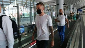 Galatasaray'ın yeni transferi Cicaldau İstanbul'da