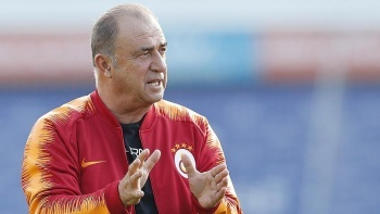 Galatasaray taraftarından Fatih Terim'e jest! Florya...
