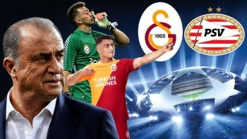 Galatasaray, UEFA Şampiyonlar Ligi'nde PSV'yi konuk ediyor