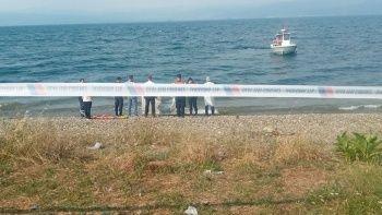 Göle giren gencin cesedine ulaşıldı