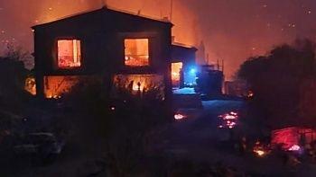 Güney Kıbrıs'taki yangında acil durum ilan edildi