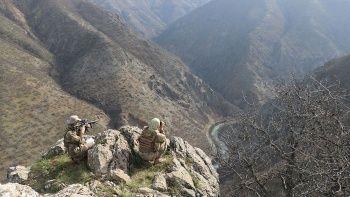 Hakkari'de 2 PKK'lı terörist öldürüldü