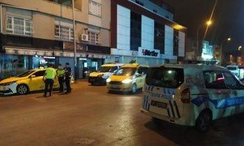 Hasımlarından kaçan taksici vuruldu