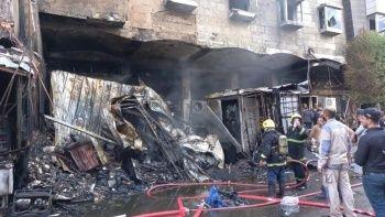 Irak Kerbela'daki otelde yangın: 1 kişi öldü çok sayıda yaralı var