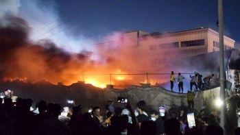 Irak'taki pandemi hastanesindeki yangında ölenlerin sayısı yükseldi