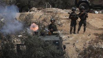 İsrail güçlerinin Filistinlilere müdahalesinde yüzlerce kişi yaralandı