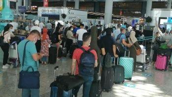 Havalimanlarında pandemi dönemi rekoru