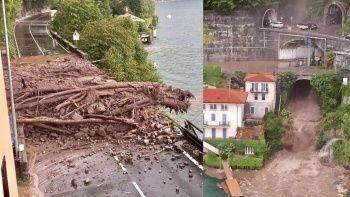 İtalya'da sel ve toprak kayması felaketi! Kurtarma operasyonları yapıldı