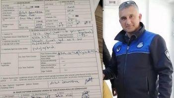 İzmir'de takdir toplayan hareket: Zabıta memuru kendisine ceza yazdı
