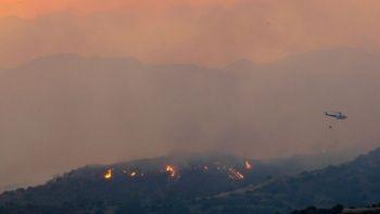 Kıbrıs Rum kesiminde devam eden yangında dört kişi hayatını kaybetti