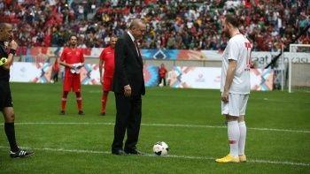 Kıbrıs'ta büyük gün! Cumhurbaşkanı Recep Tayyip Erdoğan başlama vuruşunu yapacak