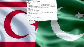 KKTC'yi 5 ülke tanıyacak iddiasından sonra Pakistan'dan dikkat çeken paylaşım geldi
