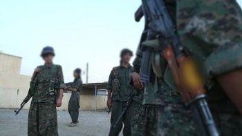 Koalisyon güçlerinden 400 YPG/PKK'lıya eğitim
