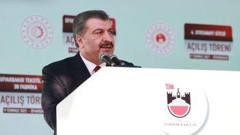 Koca: Diyarbakır Şehir Hastanemizin ihalesini bu ay gerçekleştiriyoruz