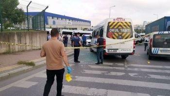 Kocaeli'de işçi servisine silahlı saldırı: 4 yaralı