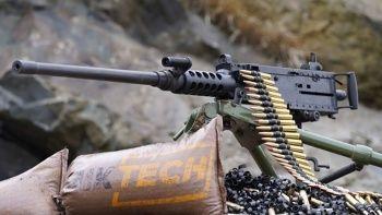 M2 ağır makineli tüfeği görücüye çıkıyor