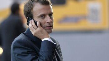 Macron'dan Pegasus önlemi