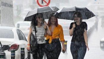 Meteoroloji'den 25 il için sağanak uyarısı
