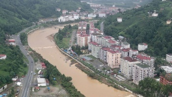 Meteoroloji'den uyarı: Sel bölgesinde şiddetli yağış etkili olacak